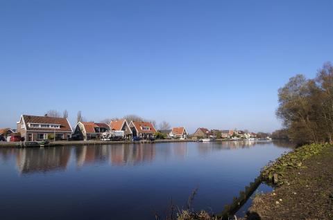 Zicht op Oude Meer (foto: Kees van der Veer)