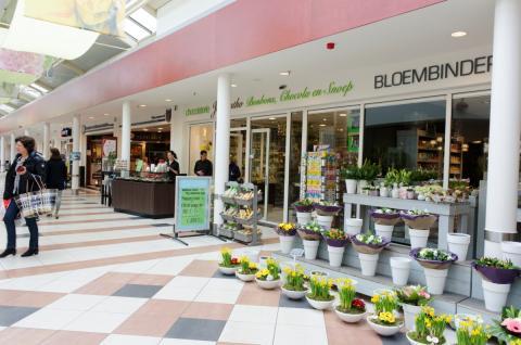 winkelcentrum 't Paradijs in Overbos (foto: Margo Oosterveen)