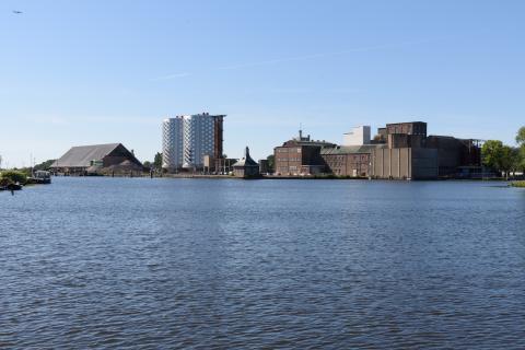 Sugar City en Ringvaart bij Halfweg en Zwanenburg