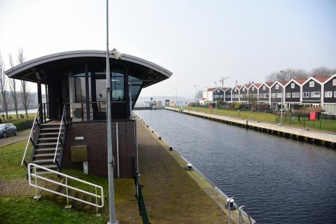 Grote Sluis bij Spaarndam
