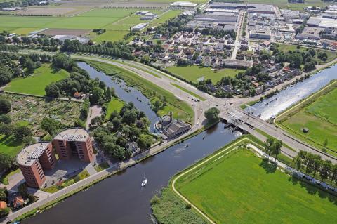 luchtfoto Cruquius (foto: Kees van der Veer)