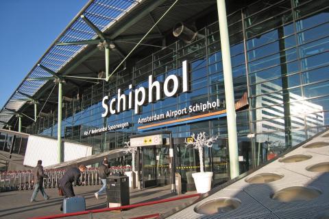 Schiphol Plaza ingang (foto: Kees van der Veer)
