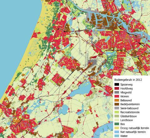 Bodemgebruik Haarlemmermeer